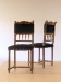Petites chaises Louis Philippe